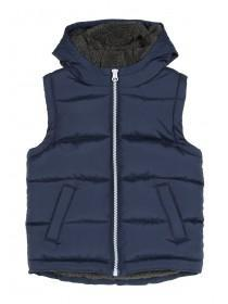 Younger Boys Blue Padded Gilet