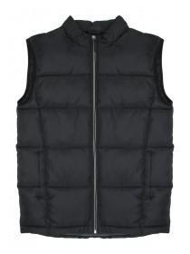 Older Boys Black Padded Gilet