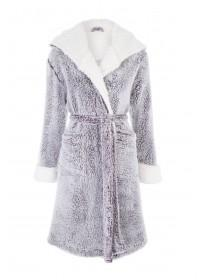 Womens Light Purple Dressing Gown