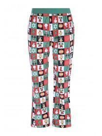 Mens Green Christmas Pyjama Bottoms