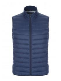 Mens Dark Blue Padded Gilet