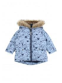 Baby Boys Woodland Print Coat