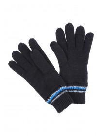 Older Boys Black Thinsulate Gloves
