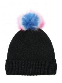 Older Girls Black Bobble Hat