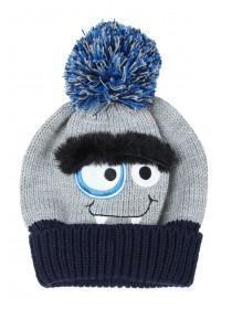 Younger Boys Monster Bobble Hat ... a5dfd8621b14