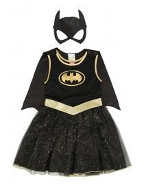 Kids Batgirl Fancy Dress Outfit