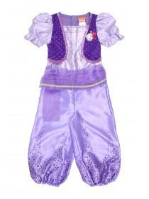 Younger Girls Purple Shimmer and Shine Fancy Dress Outfit