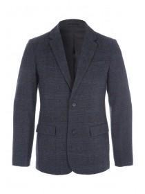 Mens Grey Check Blazer