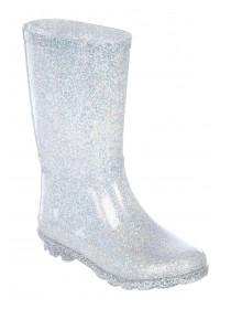 Older Girls Metallic Glitter Wellies