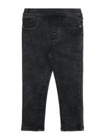 Younger Girls Black Jeggings
