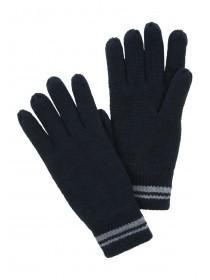 Mens Navy Thinsulate Gloves