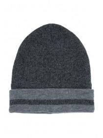 Mens Grey Marl Thinsulate Beanie Hat