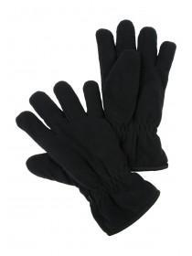 Mens Black Thinsulate Fleece Gloves