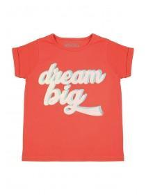 Younger Girls Coral Dream T-Shirt
