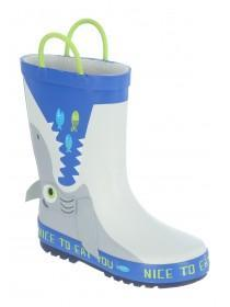 Grey Shark Handle Wellies