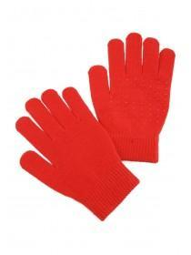 Womens Red Grip Gloves