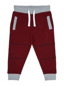 Younger Boys Burgundy Joggers