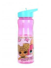 Girls Pink LOL Surprise Water Bottle