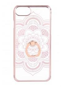 Womens Rose Gold Paisley Ring Phone Case