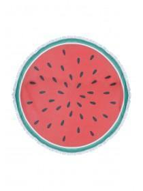 Large Circle Watermelon Towel