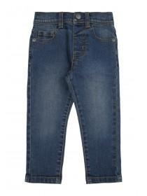 Younger Boys Dark Blue Stretch Jeans