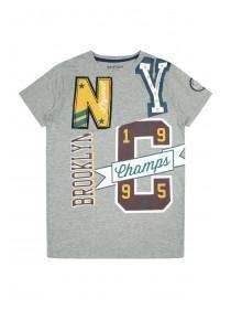 Older Boys Grey NYC T-Shirt