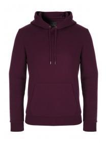 Mens Burgundy Hoody