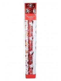 Red 9pc Luxury Gift Wrap Pack