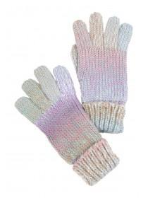 Womens Pastel Ribbed Gloves