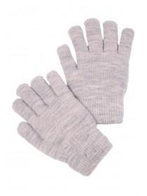 Womens Grey Cosy Gloves