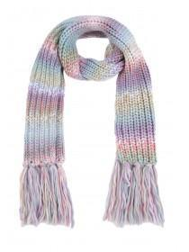 Womens Pastel Ribbed Scarf