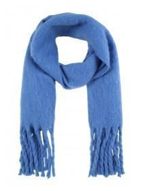 Womens Blue Oversized Scarf