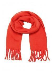 Womens Red Oversized Scarf
