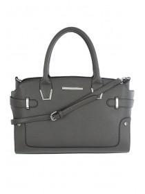 Womens Grey Small Tote Bag