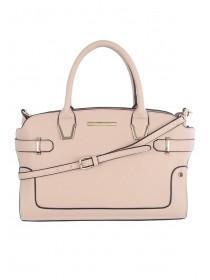 Womens Pale Pink Small Tote Bag