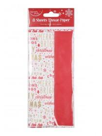 Christmas Slogan Tissue Paper