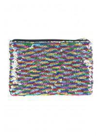 Rainbow Flip Sequin Pencil Case