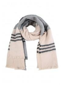 Womens Pink Colourblock Scarf