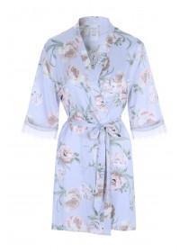 Womens Lilac Floral Kimono