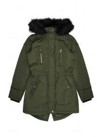Older Girls Khaki Parka Coat