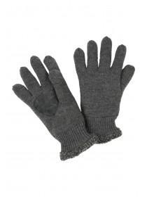 Mens Grey Gloves