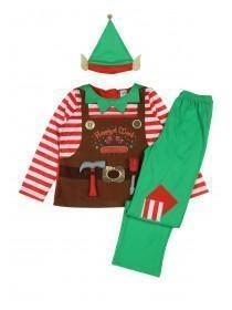 Kids Elf Fancy Dress Outfit