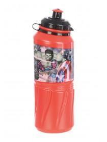 Younger Boys Red Marvel Water Bottle