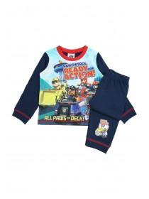 Younger Boys Navy Paw Patrol Pyjama Set