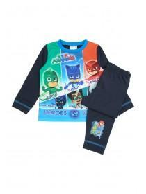 Younger Boys Blue PJ Masks Pyjama Set
