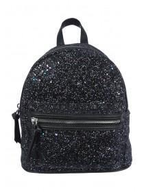 Black Glitter Rucksack