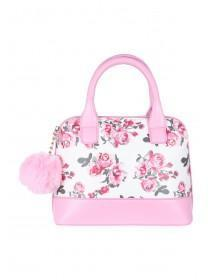 Older Girls Pink Floral Mini Bag