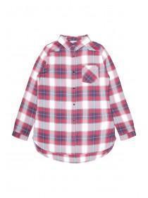 Older Girls Red Check Shirt