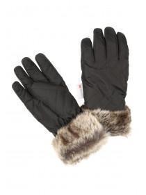 Womens Black Ski Gloves