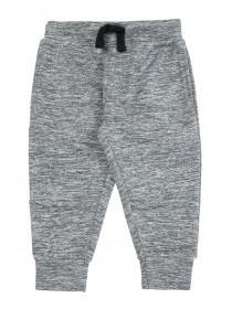 Younger Boys Grey Marl Joggers